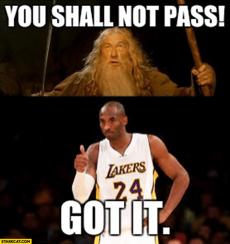 Overdue And Pregnant Cervix Be Like You Shall Not Pass Gandalf