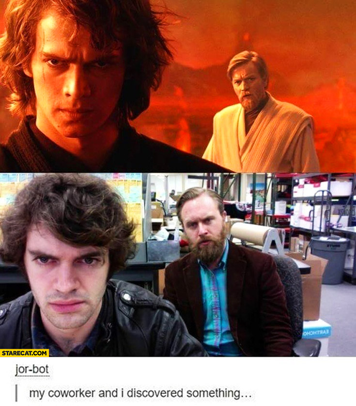 My Coworker And I Discovered Something Looking Exactly Like Obi