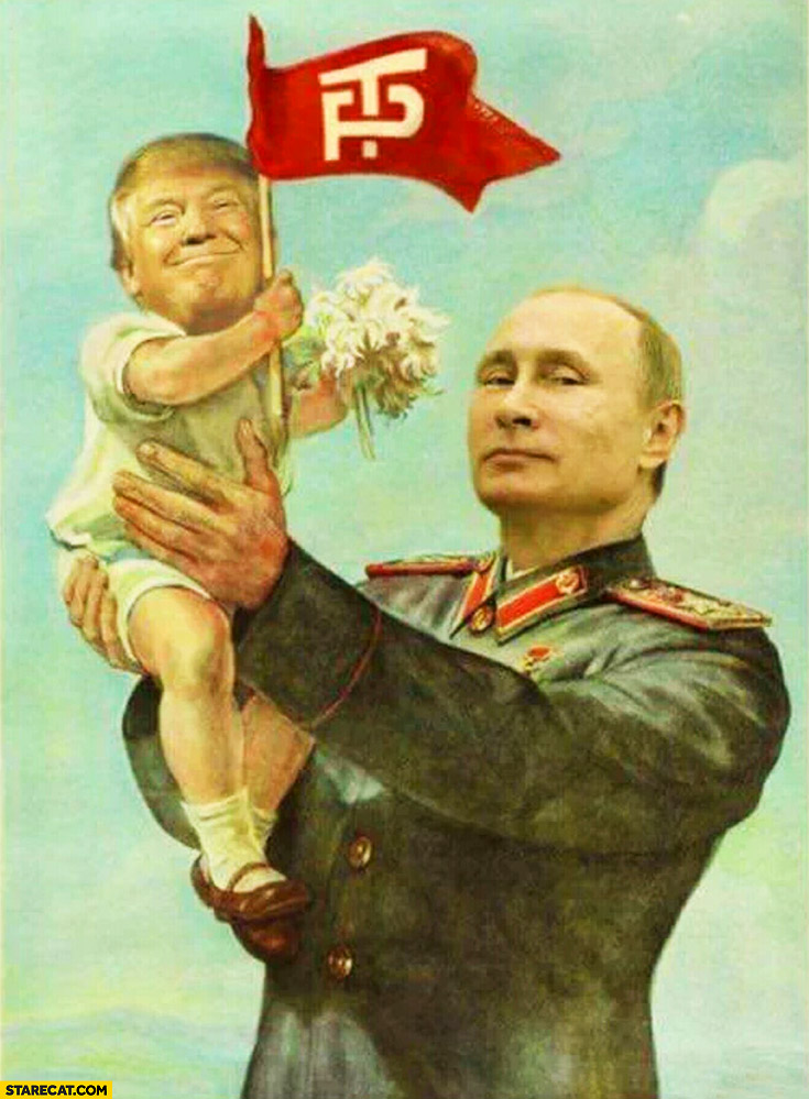 Image result for trump and putin meme