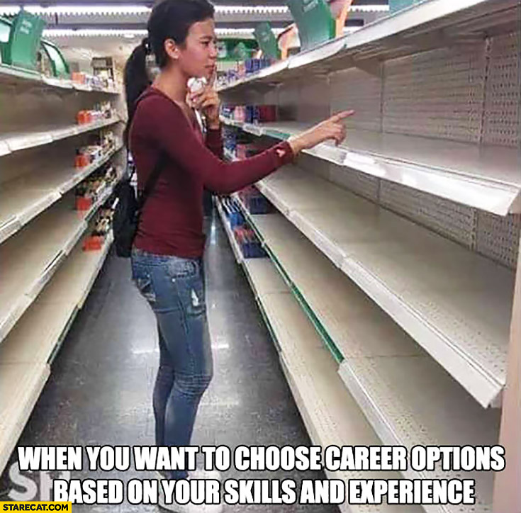 When You Want To Choose Career Options Based On Your