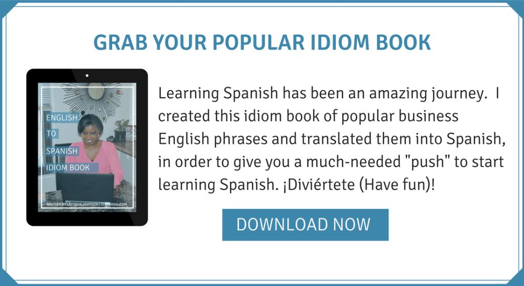 STARENGU SPANISH IDIOM BOOK