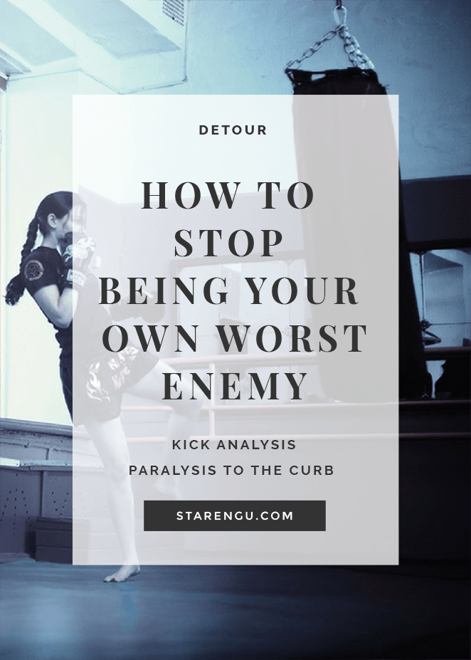How to stop being your own worst enemy