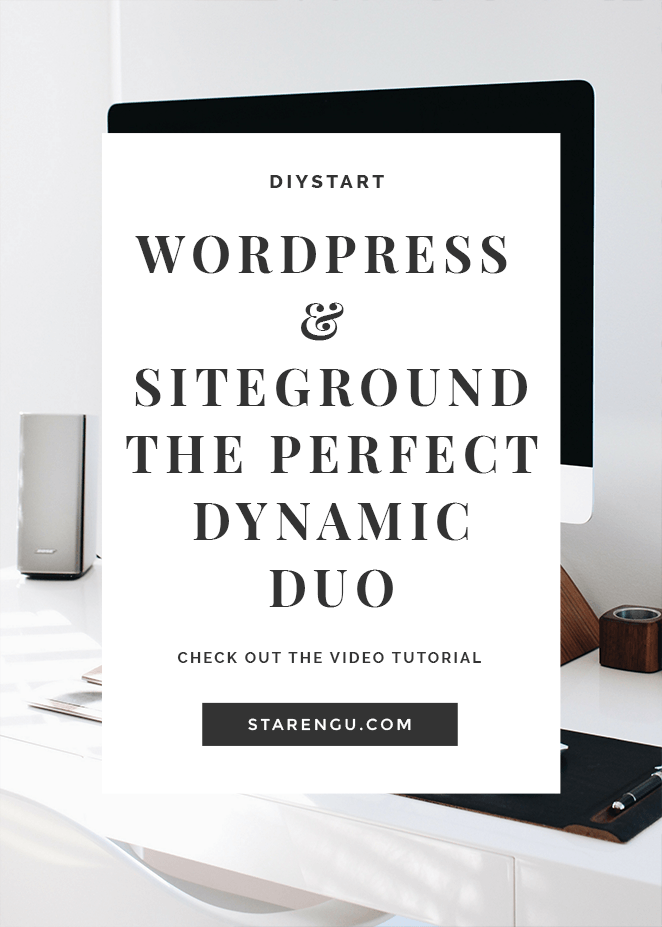 WordPress and Siteground -A Bloggers Dynamic Duo