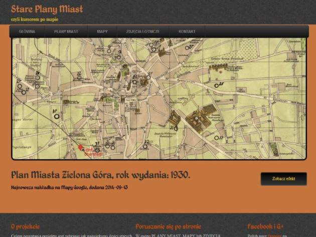 stareplanymiast.pl - Strona główna (odsłona 1)