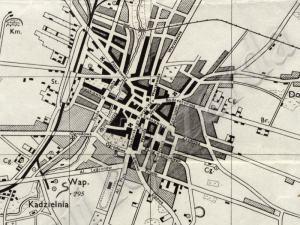 Plan Miasta Kielc z 1944r.