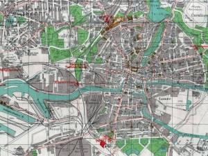 Plan Miasta Królewca z 1944r.