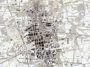 Plan Miasta Łodzi z 1943r.