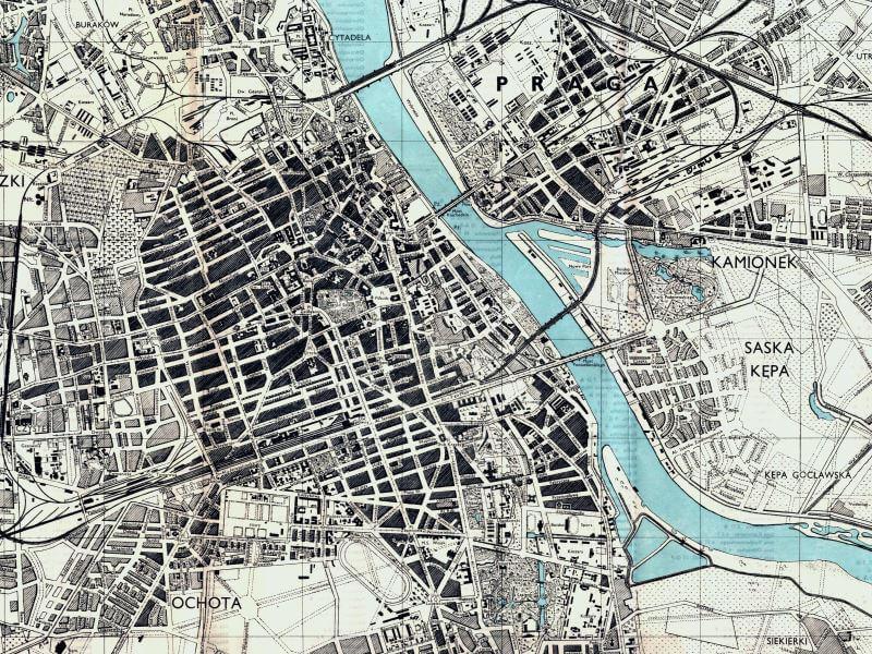 Plan Miasta Warszawy z 1944r.