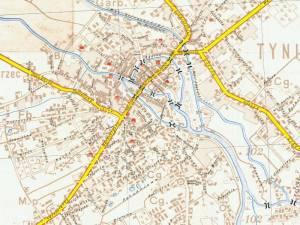 Plan Miasta Kalisza z 1939r.