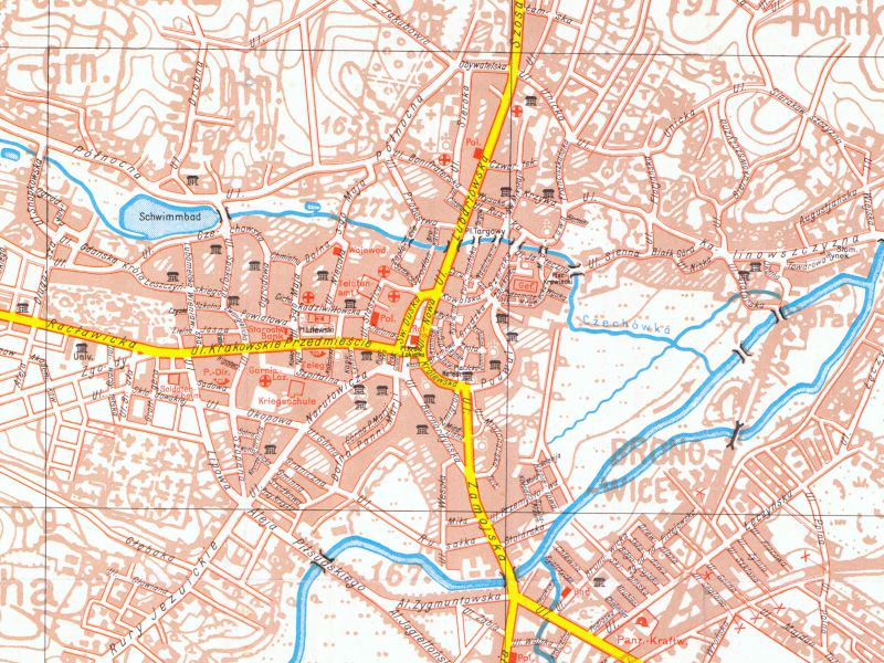 Plan Miasta Lublina z 1939r.