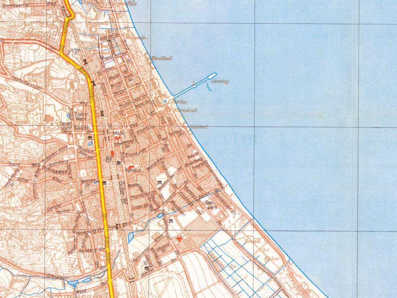 Plan Miasta Sopotu z 1939r.