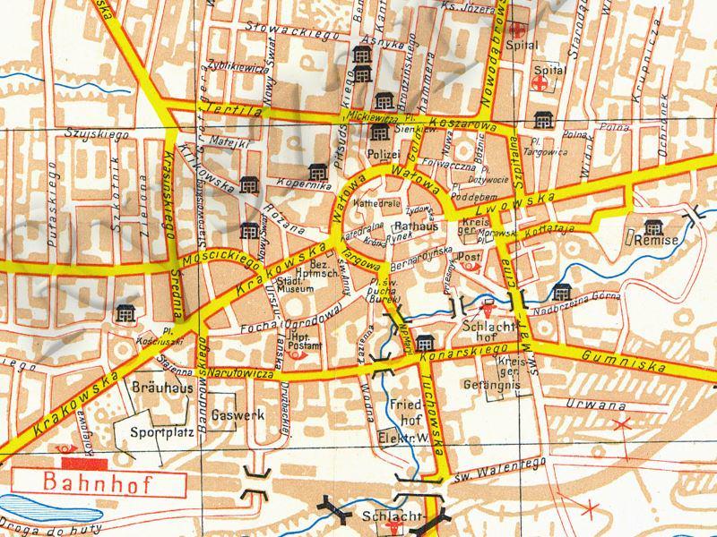 Plan Miasta Tarnowa z 1939r.