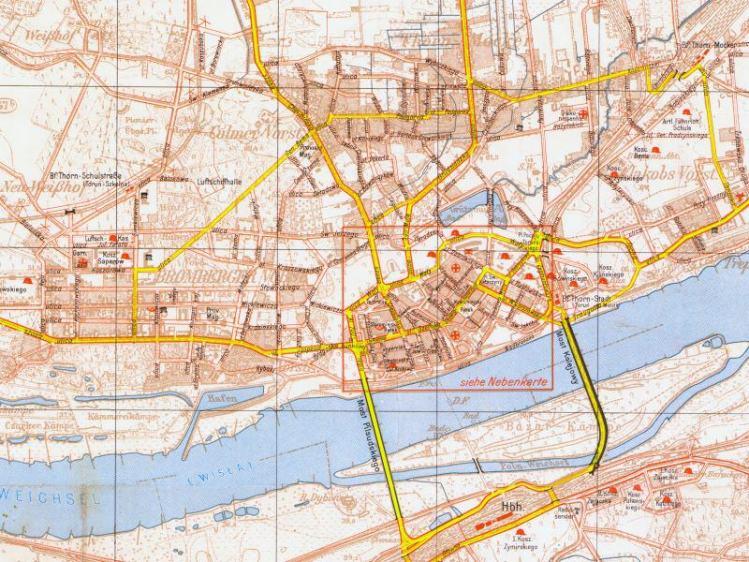 Plan Miasta Torunia z 1939r.