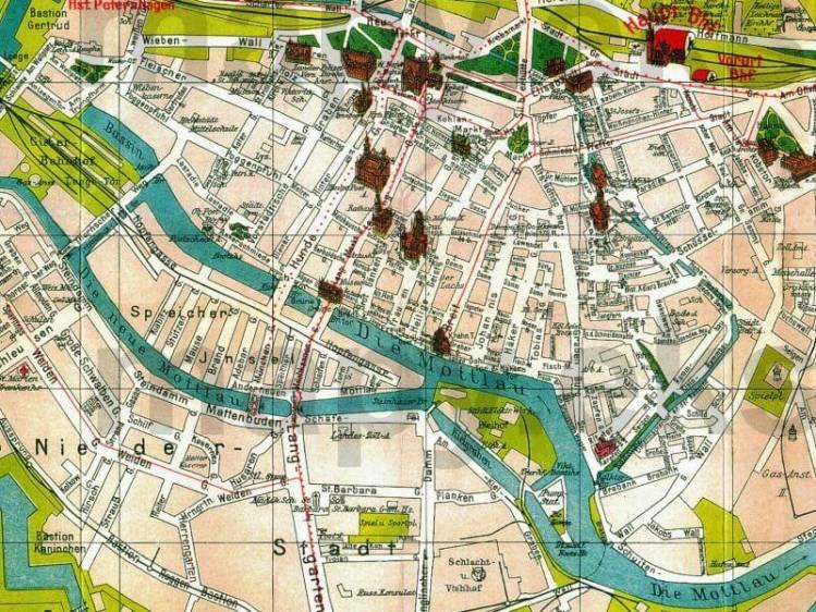 Plan Miasta Gdańska z 1930r.
