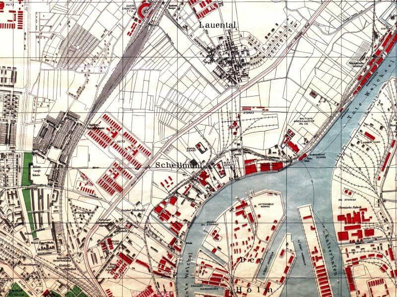 Plan Miasta Gdańska (N) z 1944r.