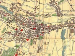 Plan Miasta Katowic z 1935r.