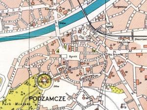 Plan Miasta Przemyśla z 1932r.