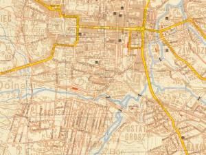 Plan Miasta Częstochowy z 1940r.
