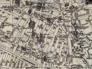 Plan Miasta Gdańska z 1922r.