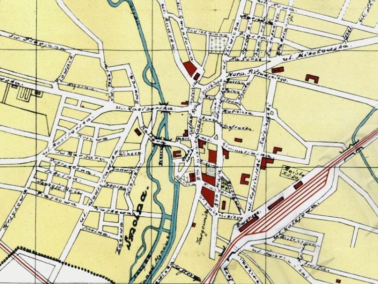 Plan Miasta Rybnika z 1932r.