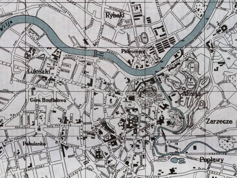 Plan Miasta Wilna z 1943r.