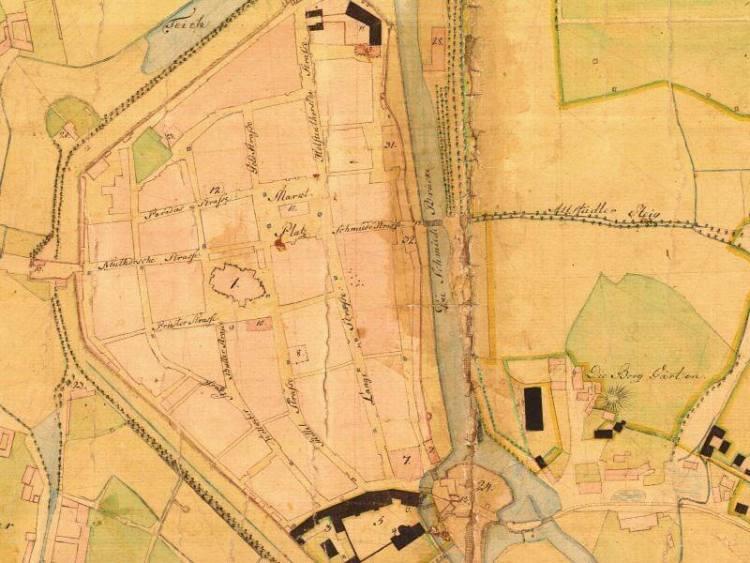 Plan Miasta Słupska z 1811r.