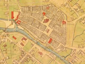 Plan Miasta Słupska z 1875r.