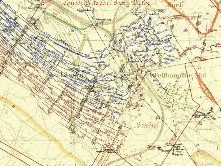 Mapa Górnicza Wałbrzycha z 1905r. (5)