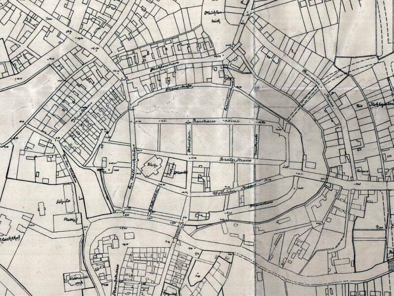 Plan Miasta Goleniowa z 1921r.