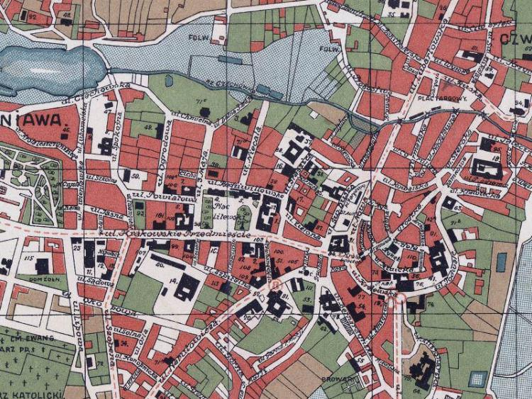 Plan Miasta Lublina z 1931r.