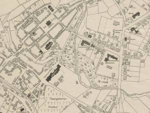 Plan Miasta Ścinawy z 1915r.