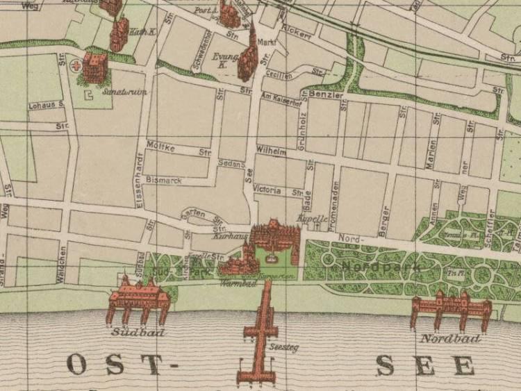 Plan Miasta Sopotu z 1923r.
