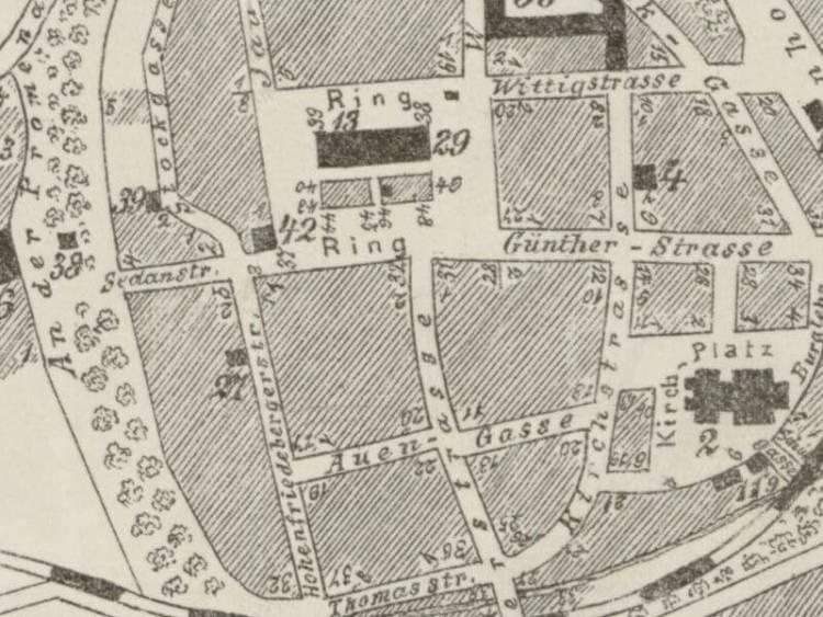 Plan Miasta Strzegomia z 1910r.