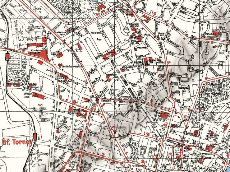 Plan Miasta Szczecina z 1941r.