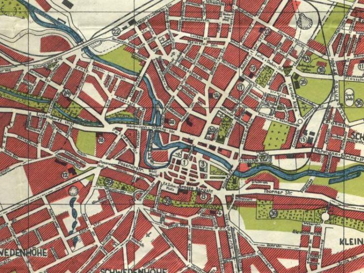 Plan Miasta Bydgoszczy z 1941r.