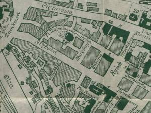 Plan Miasta Cieszyna z 1933r.