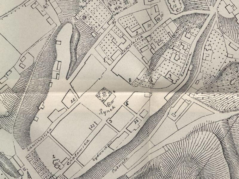 Plan Miasta Sandomierza z 1926r.