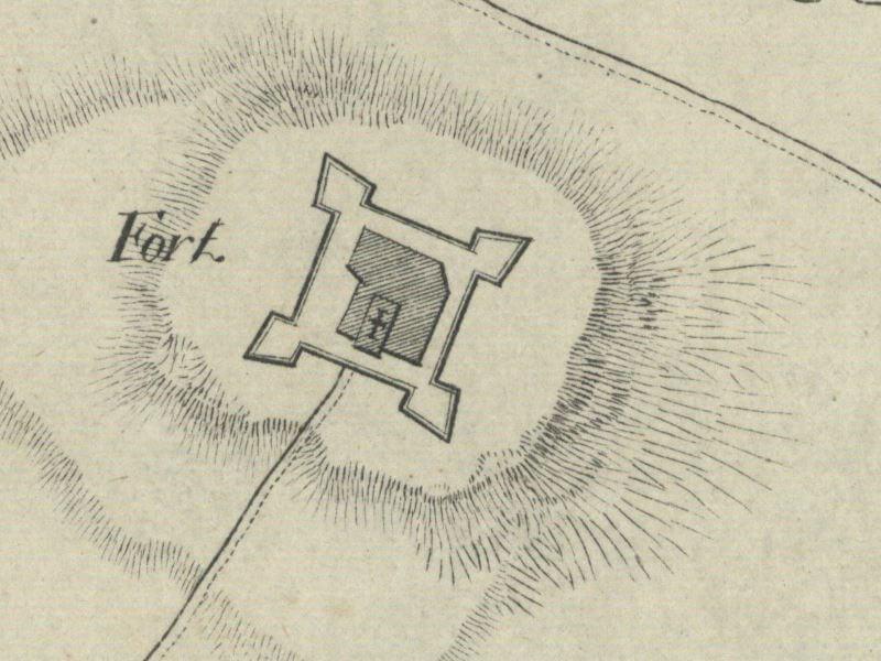 Plan Fortecy Jasnogórskiej