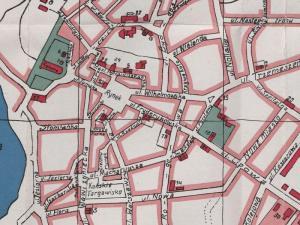 Plan Miasta Gniezna z 1920r.