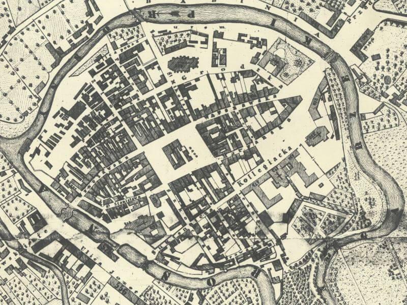 Plan Miasta Kalisza z 1825r.