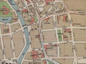 Plan Miasta Opola z 1927r.