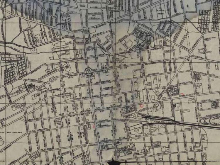 Plan Miasta Łodzi z 193?r.