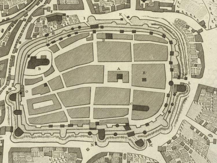 Plan Miasta Świdnicy z 1756r.