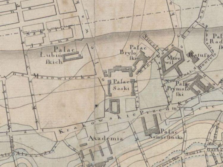 Plan Miasta Warszawy z 1821r.