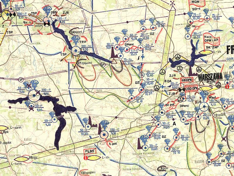 Plan uderzenia wojsk UW