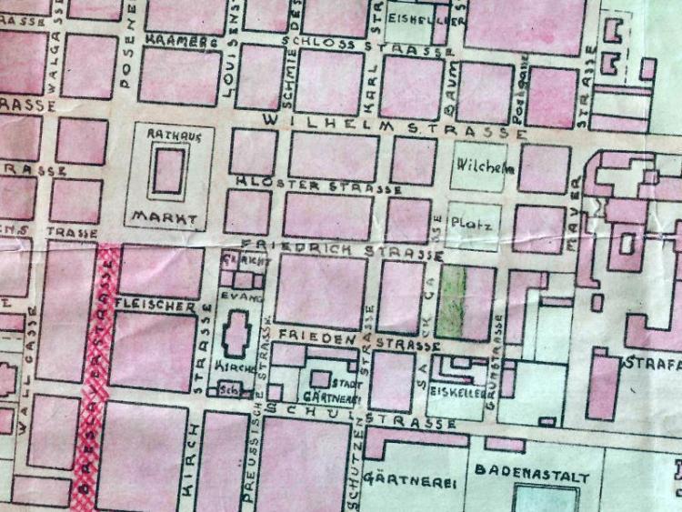 Plan Miasta Rawicza z 1939r.