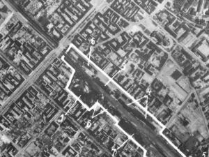 Zdjęcie Częstochowy z 1944r.