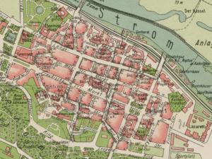 Plan Miasta Głogowa z 1930r.