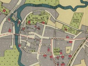 Plan Miasta Będzina z 1939r.
