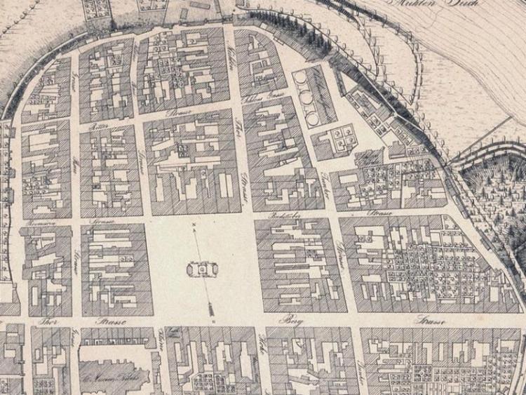 Plan Miasta Koszalina z 1836r.